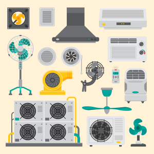 various-air-conditioning-units-illustrated